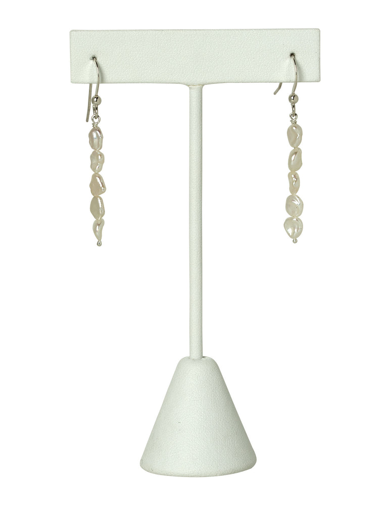 Mother of Pearl Line Earrings