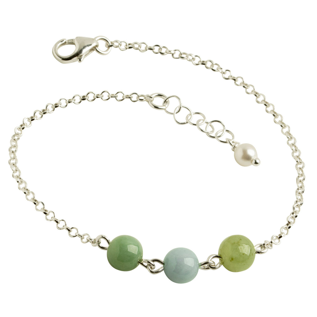 Jade Multi-Colored Bracelet