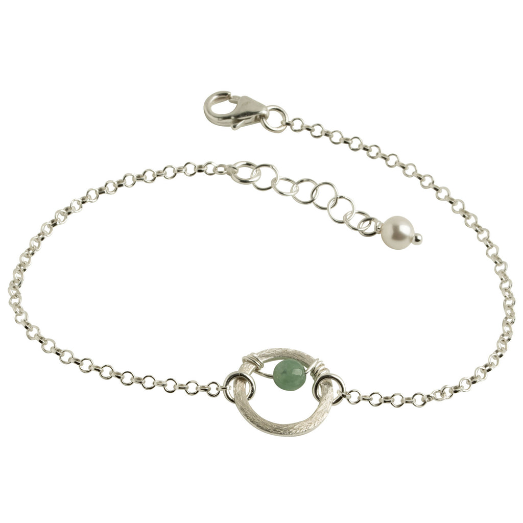 Eternity Circle Jade Bracelet