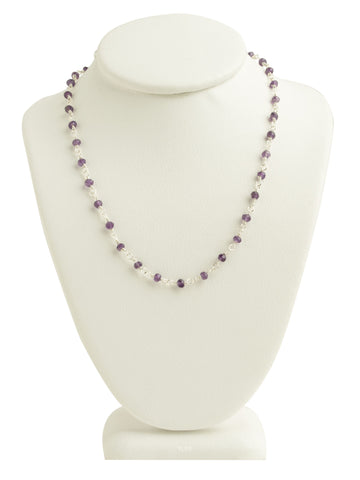 Amethyst Gemstone Necklace