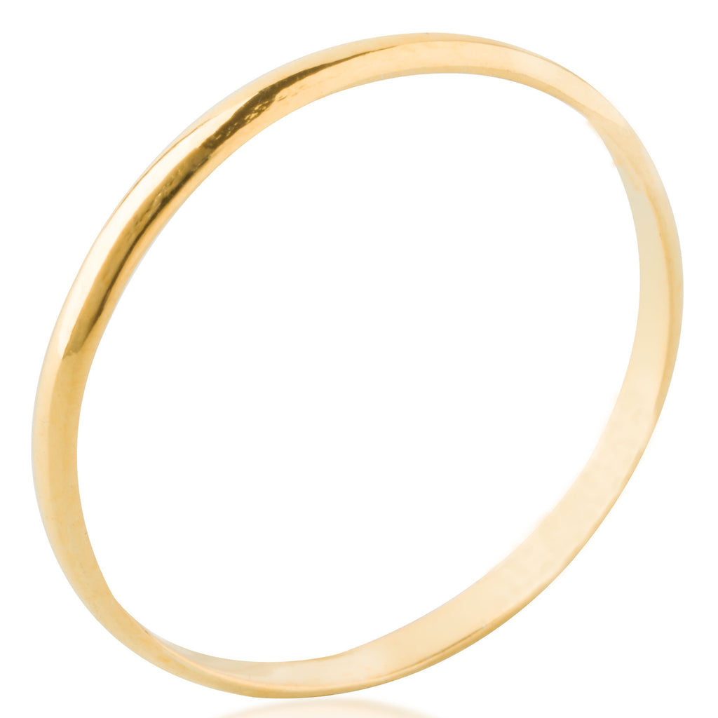 Thin Gold Band Ring