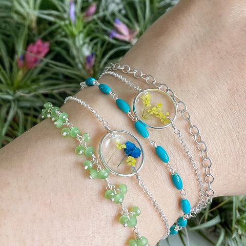 Spring Blooms Bracelet Collection