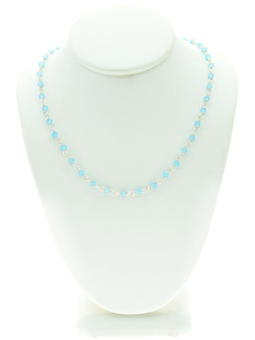 Amazonite Gemstone Choker Necklace
