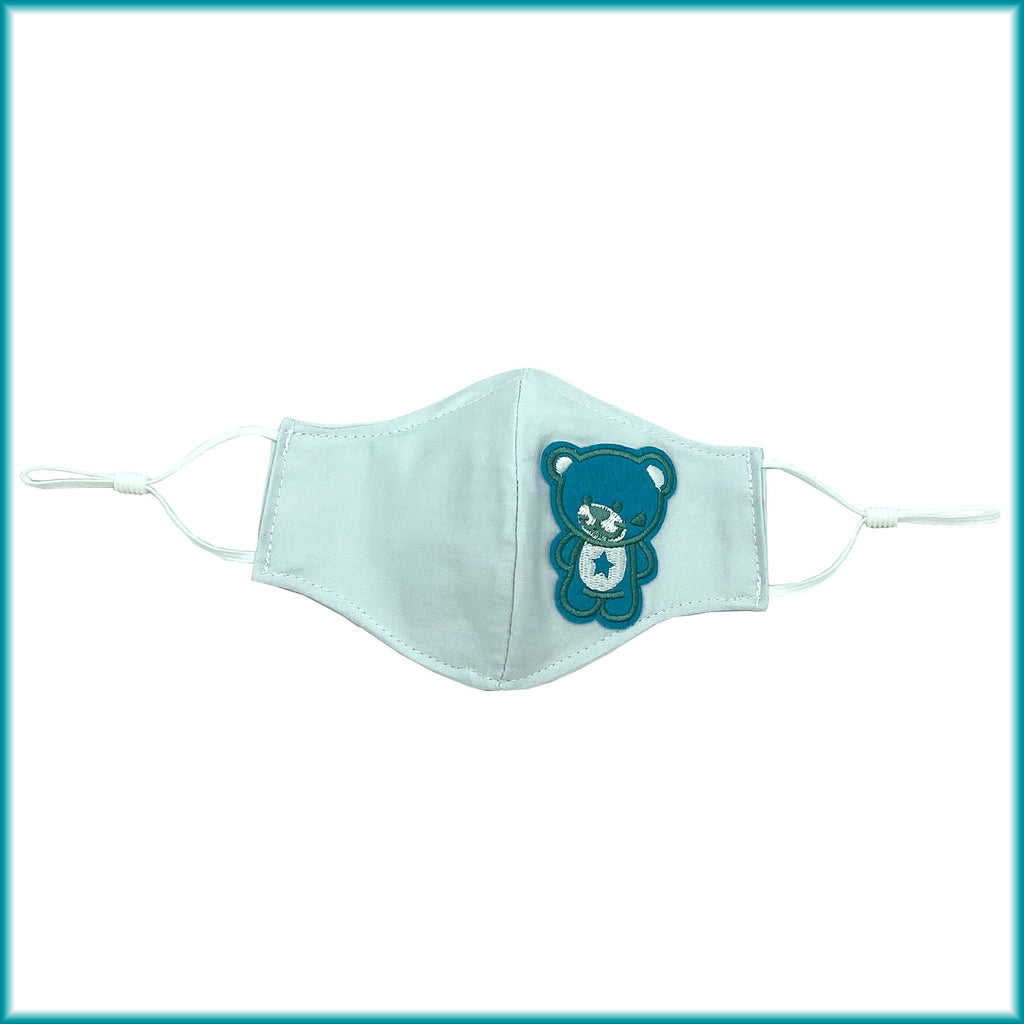 Animals Cotton Masks with Filter Pocket, Nose Wire, Adjustable Ear Loops
