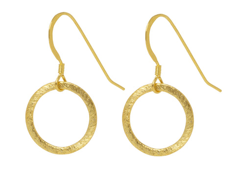 Eternity Circle Earrings