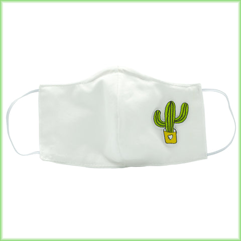 Cactus Tucson Saguro Mask With Filter and Nose Wire