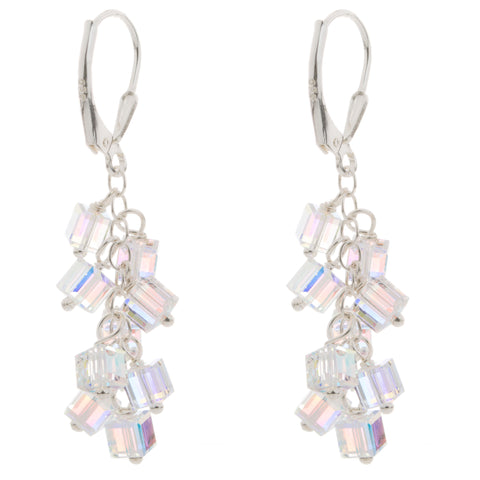 Swarovski Crystal Charm Earrings