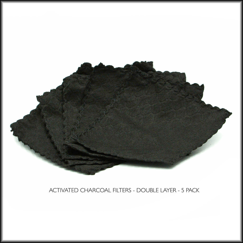 ACTIVATED CHARCOAL FILTERS - 5 PACK