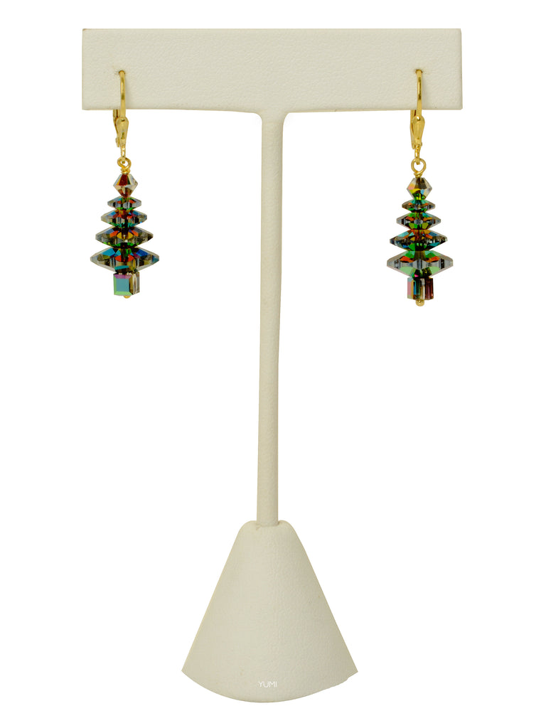 Evergreen Tree Earrings - MEDIUM
