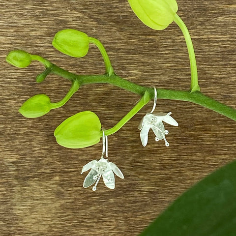Organic Flower Earrings