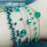 YUMI JEWELRY - Emerald Green Bracelet Collection