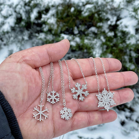 Snowflake Necklaces - 12/17/20