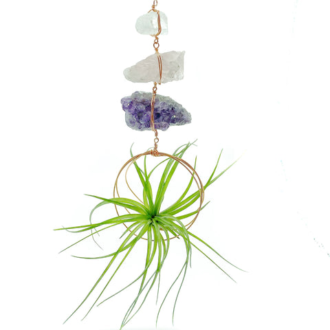 Gemstone Air Plant Mobile