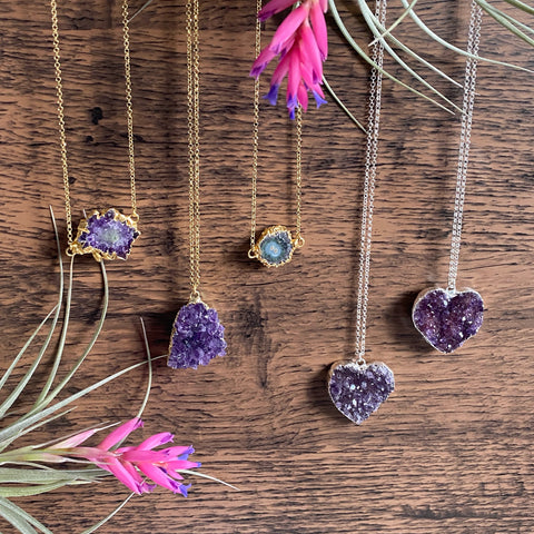 12/7/20 - Amethyst Necklace Collection