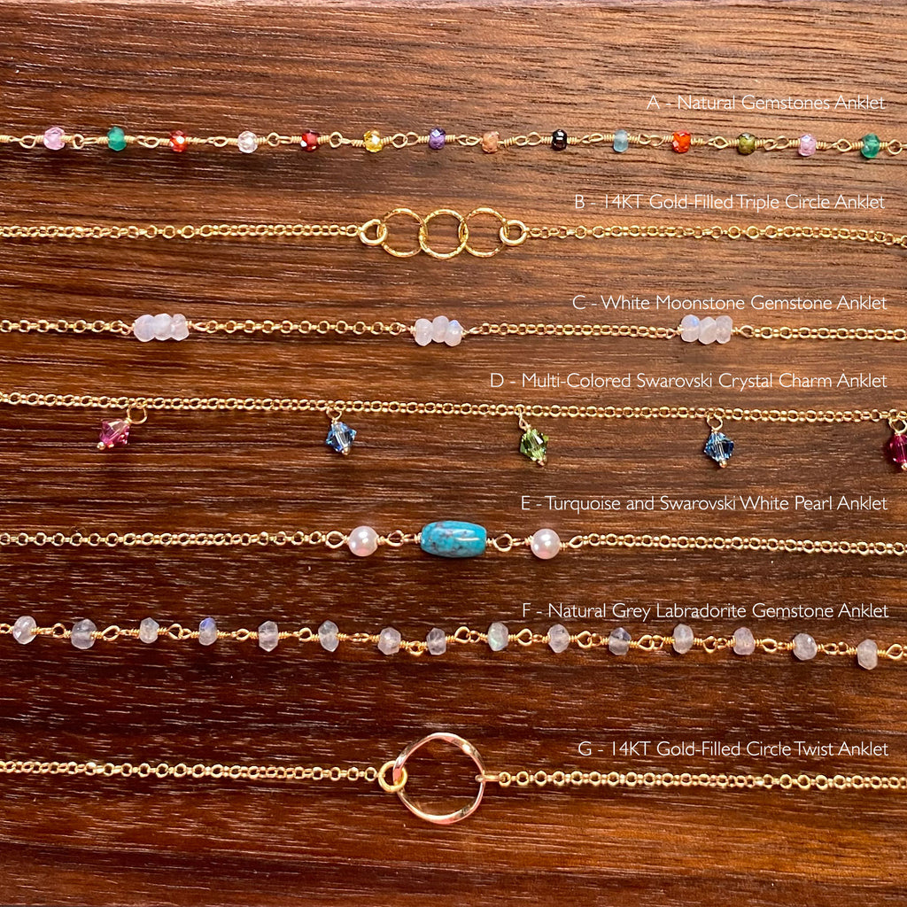 Anklets - Collection 7/20/20