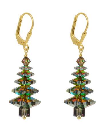 Evergreen Tree Earrings - LARGE