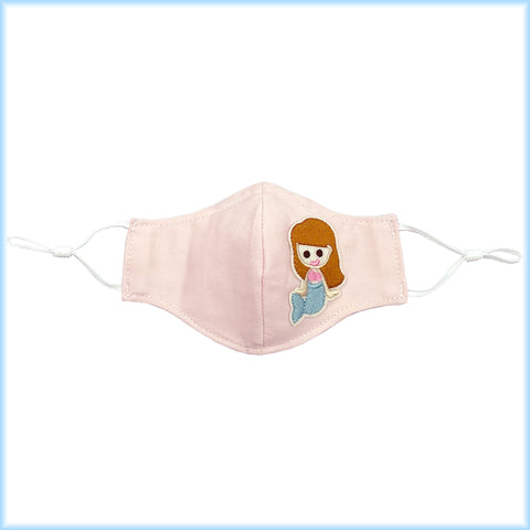 Back to School Cotton Masks with Filter Pocket, Nose Wire, Adjustable Ear Loops