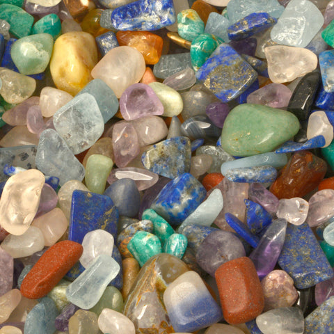 1 LB Mixed Natural Gemstone Chips