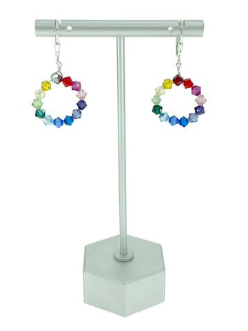 Chasing Rainbows Crystal Earrings