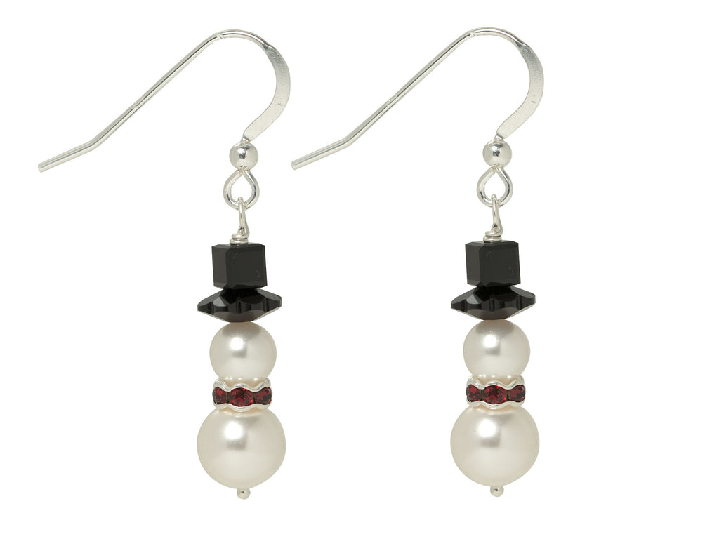 Happy Snowman Earrings