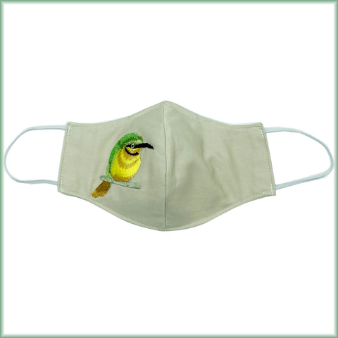 Toucanet Bird Mask with Filter and Nose Wire