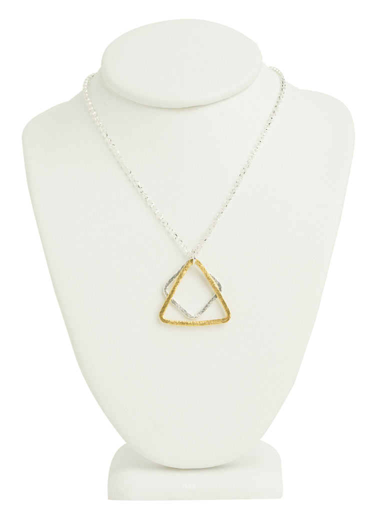 Abstract Shapes Necklace