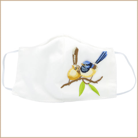 Finch Love Birds Mask With Filter and Nose Wire
