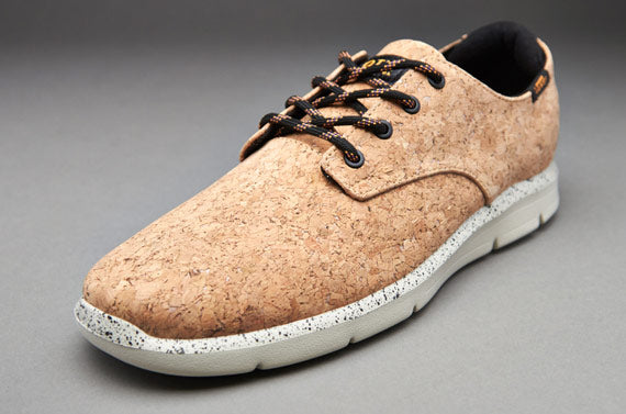 Vans trainers made from cork.