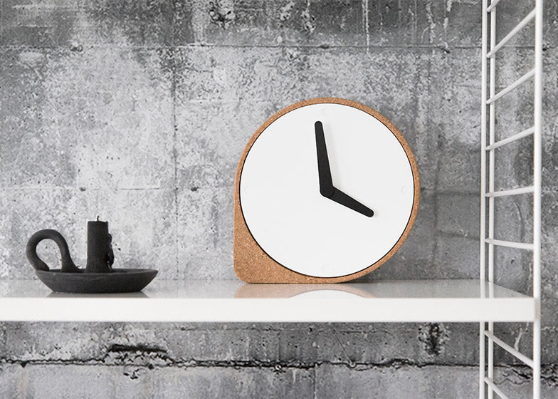 Cork Clock design