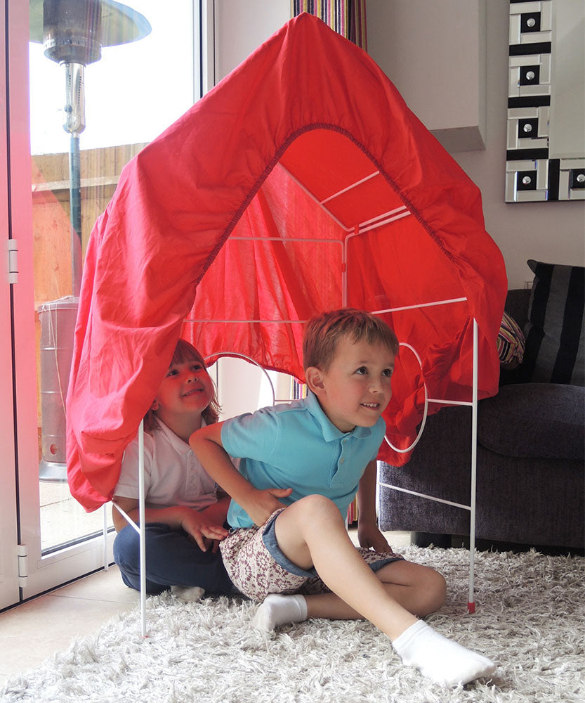 Clothes House clothes horse and play den for children