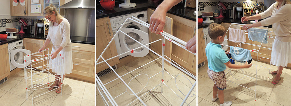Clothes Horse kids play den
