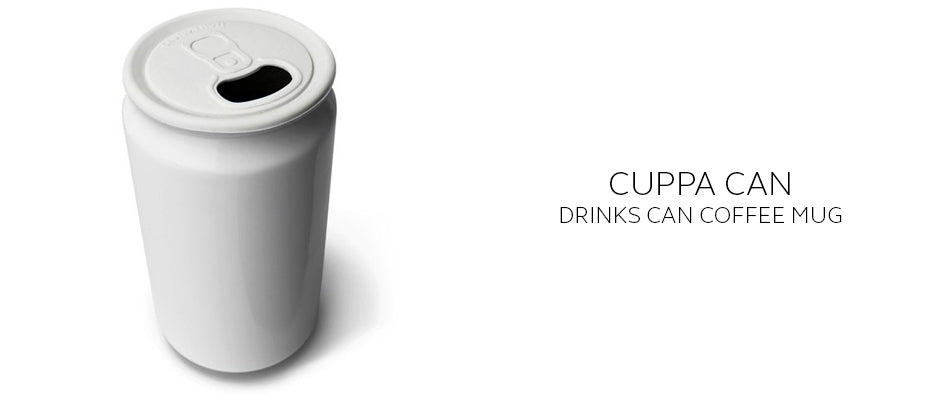 Cuppa Can Soda can shaped ceramic coffee mug