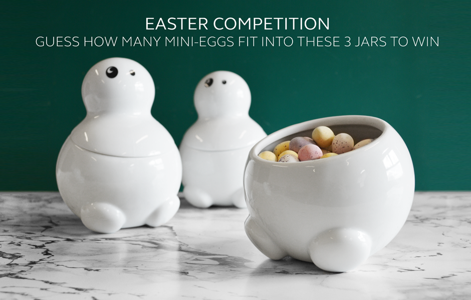 Enter the THABTO Easter Competition to win a set of storage jars