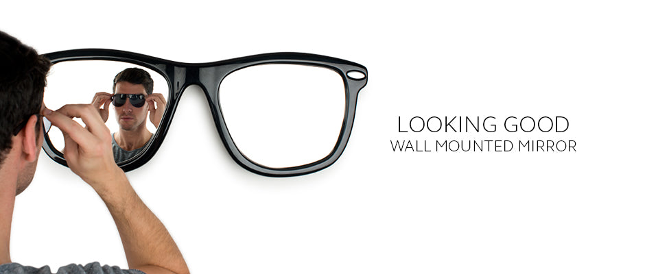 Looking Good Sunglasses Wall Mounted Wayfarer Mirror by THABTO