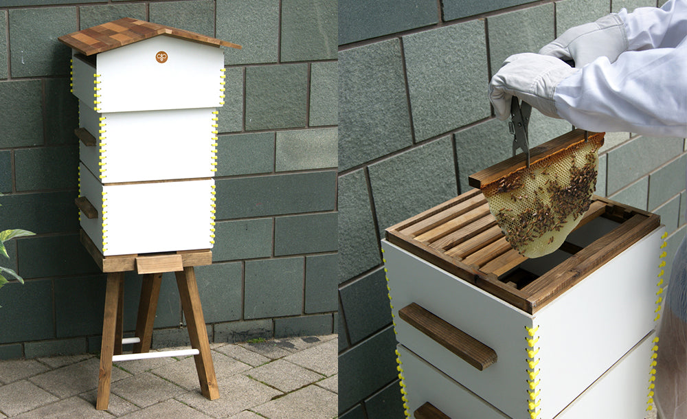 Newbees Beehive - Bee Keeper Starter Kit Flatpack Design
