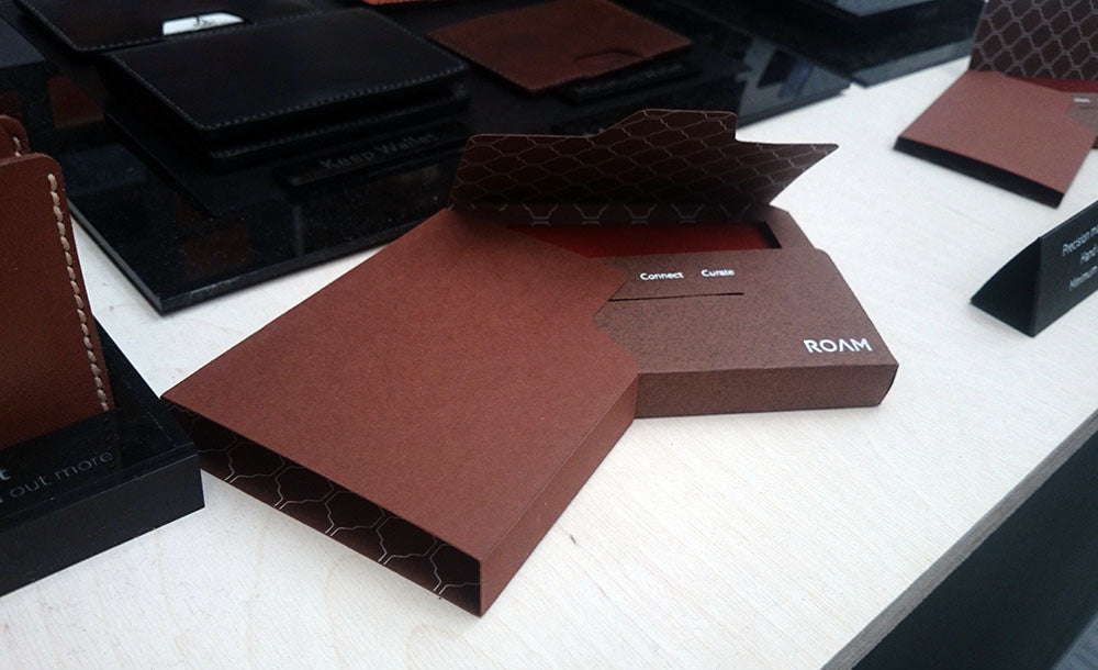 Roam Wallet Packaging