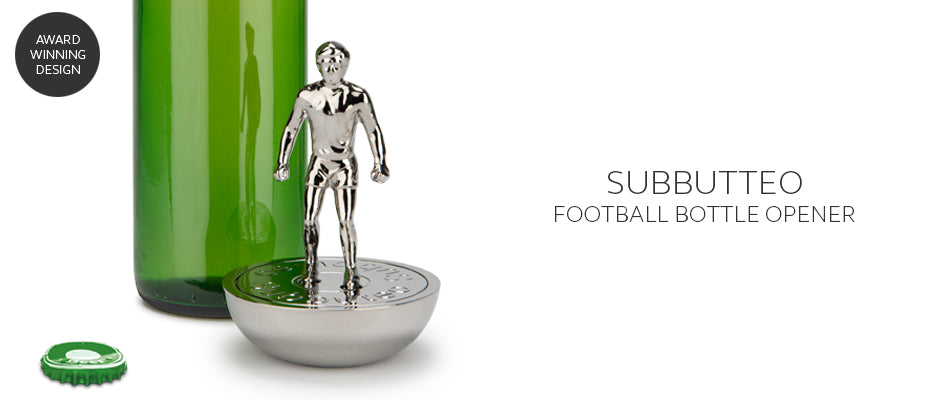 Subbuteo solid metal retro football bottle opener is the perfect gift for men