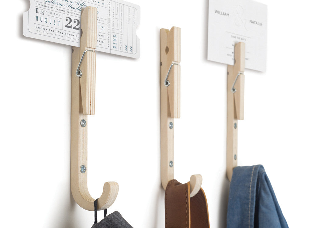 Jpegs contemporary wooden coat hooks by THABTO