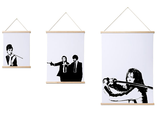 Magnetic Print Frames Simple Amp Stylish Poster Hanging