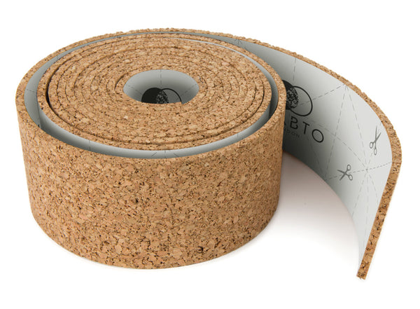 ROLL + PIN the roll of self adhesive cork pin board by THABTO