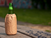 Beer Bottle Cooler That Looks Like a Brown Paper Bag