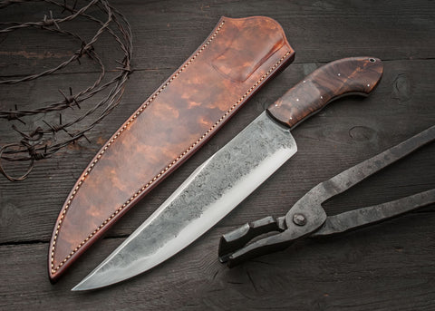 Walnut Camp Knife