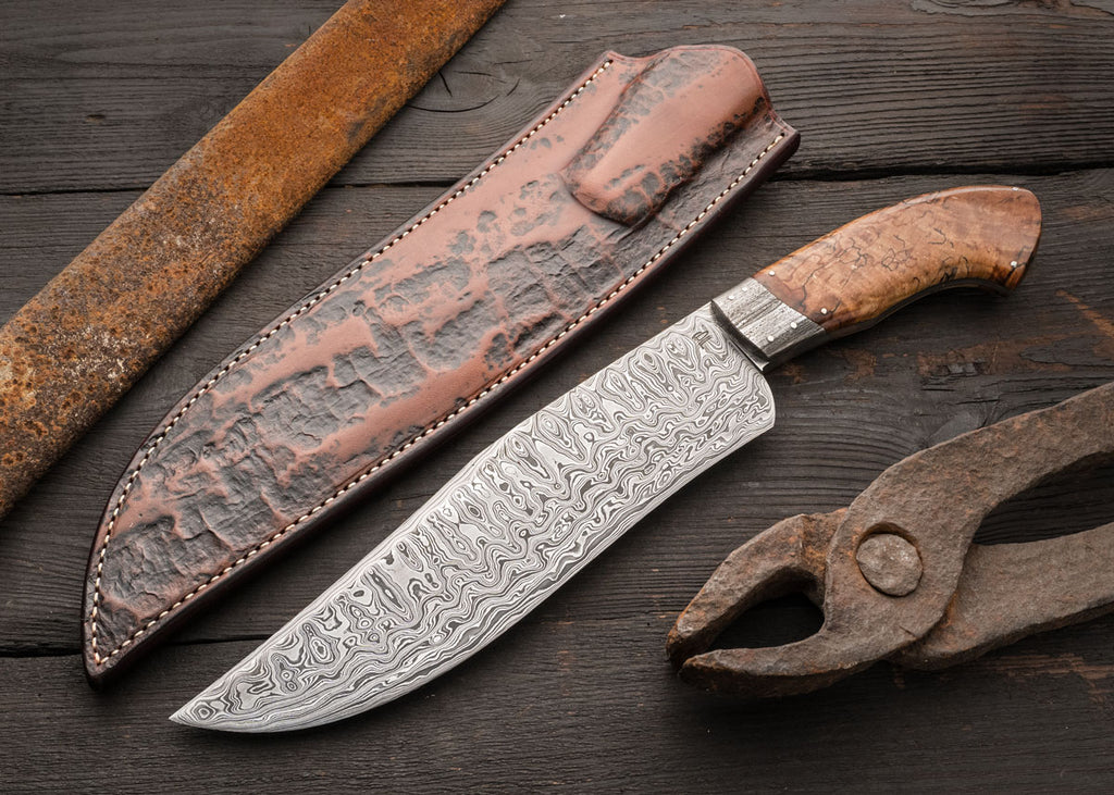 Wrought Camp Knife