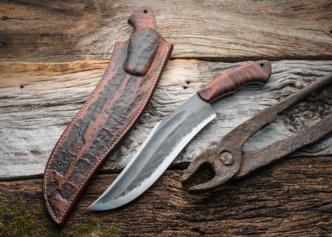 Serpentine Camp Knife