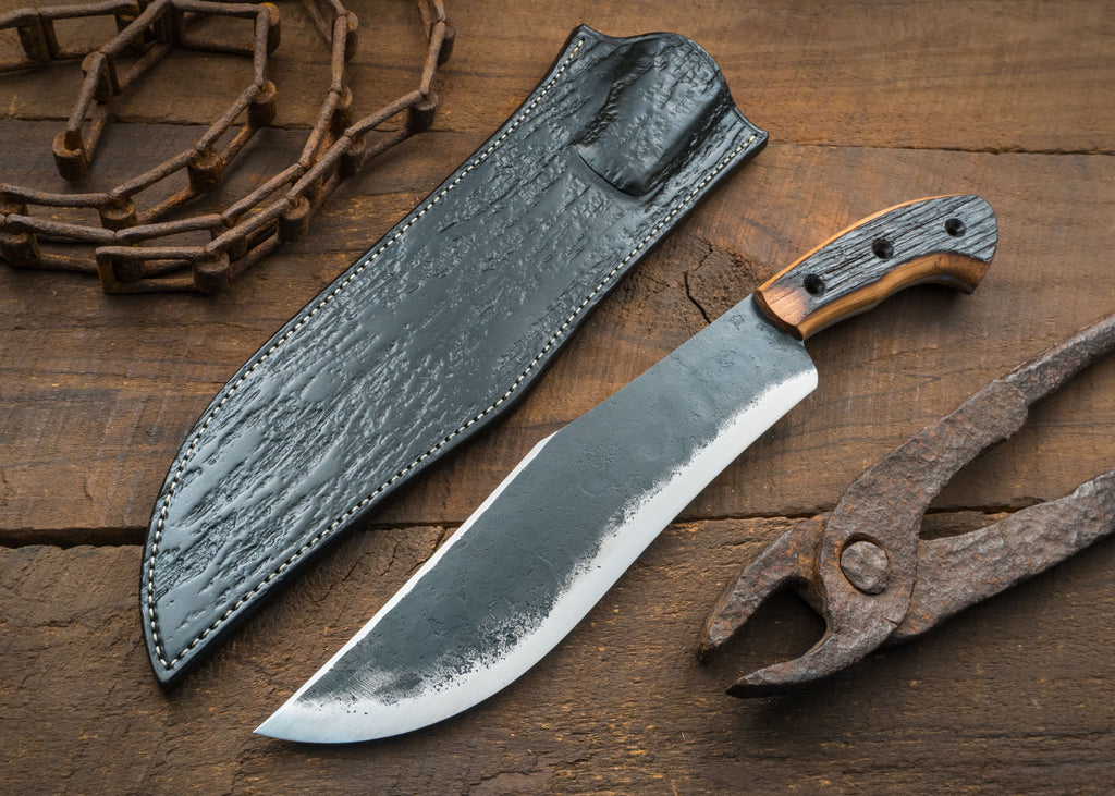 Bourbon Barrel Camp Knife