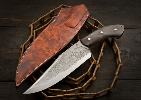 Rustic Camp Knife