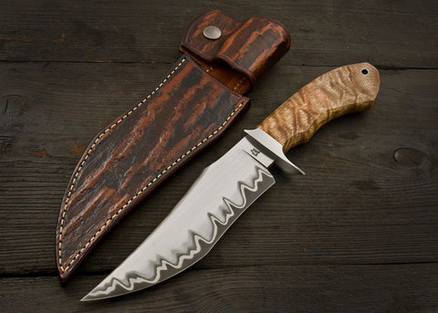 Iron Spur Fighter - Natural Sapele