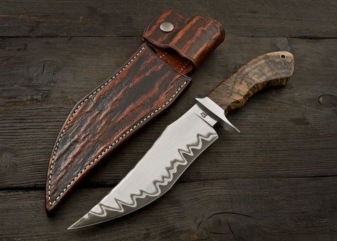 Iron Spur Fighter - End-Grain Spalted Maple