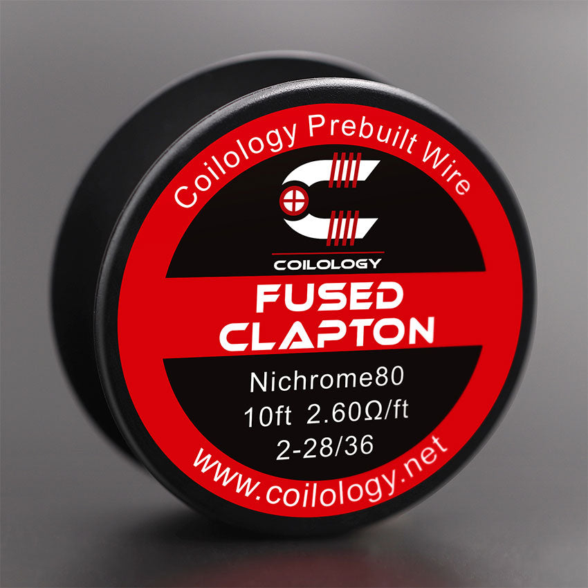 10ft Coilology Fused Clapton Prebuilt Spools Wire