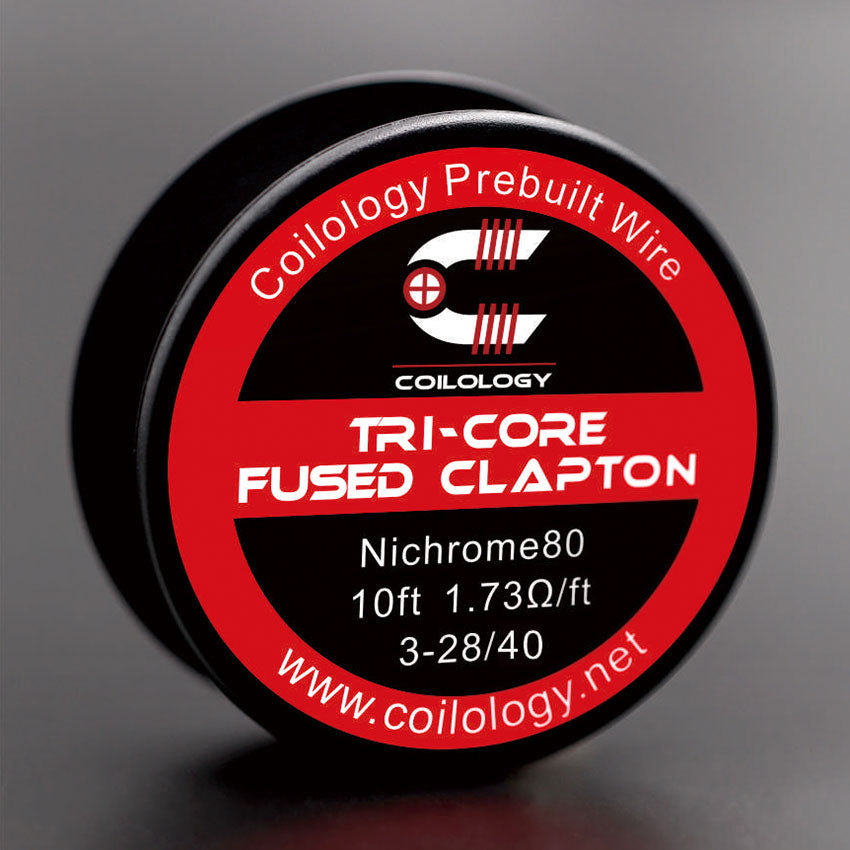 10ft Coilology Tri-Core Fused Clapton Spool Wire